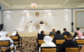 الصورة: الإمارات ملتزمة بعدم التصعيد مع قطر حفاظاً على مبدأ الأمن والسلم الإقليمي