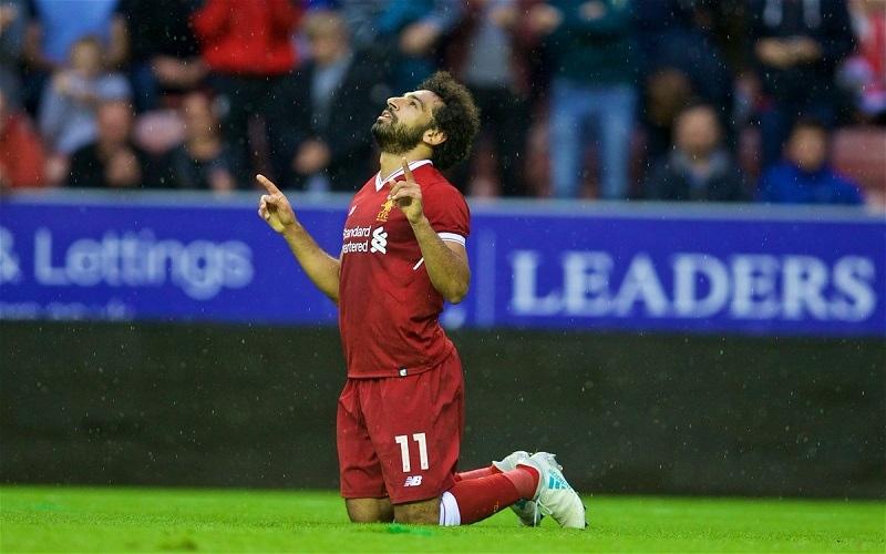 الصورة: محمد صلاح في طريقه لأن يصبح أفضل لاعب في العالم