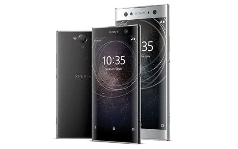 الصورة: «سوني» تطلق هاتفين جديدين من الفئة المتوسطة