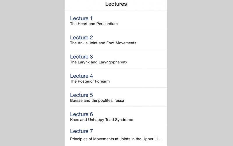 الصورة: Anatomy Lectures and MCQs.. للمساعدة في دراسة علم التشريح