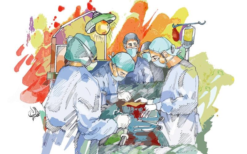 الصورة: أطباء غير مرخصين يجرون عمليات جراحة وإجهاض في شقة