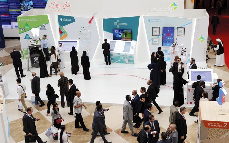 الصورة: «صحة دبي» تعرض نظام النداء الذكي بين الأطباء والتمريض