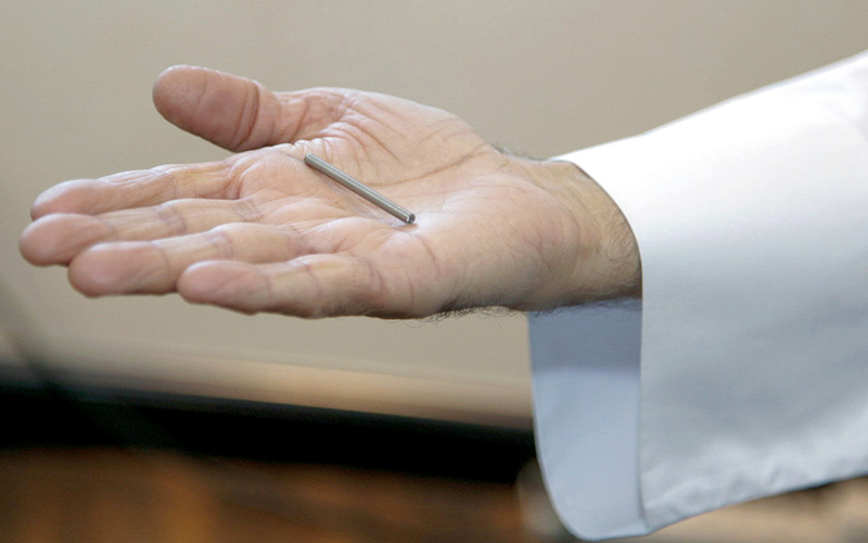 7c148fe22 شريحة علاج «السكري» في الدولة عقب اعتمادها من «FDA» - الإمارات اليوم