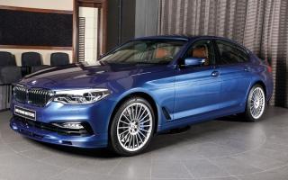 الصورة: «BMW ALPINA B5 Bi-Turbo» تصل أسواق أبوظبي