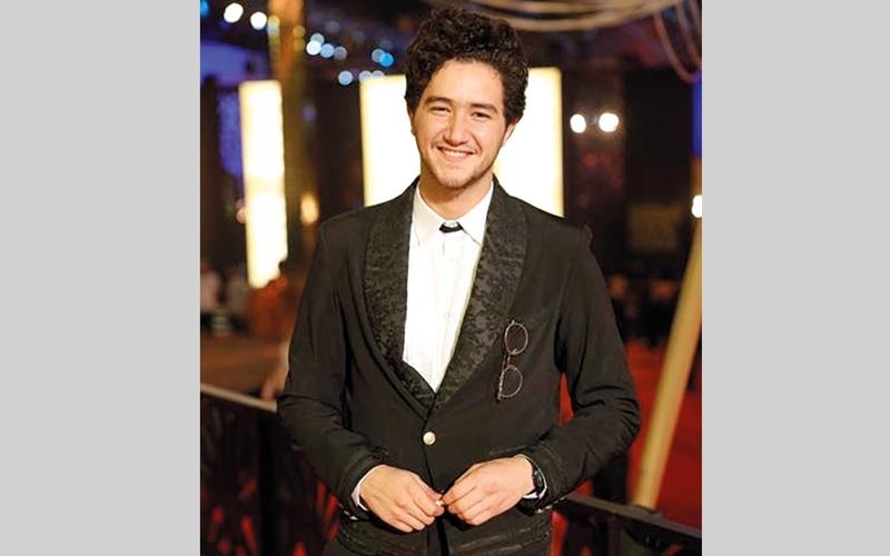 الصورة: أحمد مالك أفضل ممثل «دور ثانٍ» في «جمعية الفيلم السنوي»
