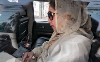 الصورة: الحكم بسجن رئيسة وزراء بنغلاديش السابقة  لمدة 5 أعوام