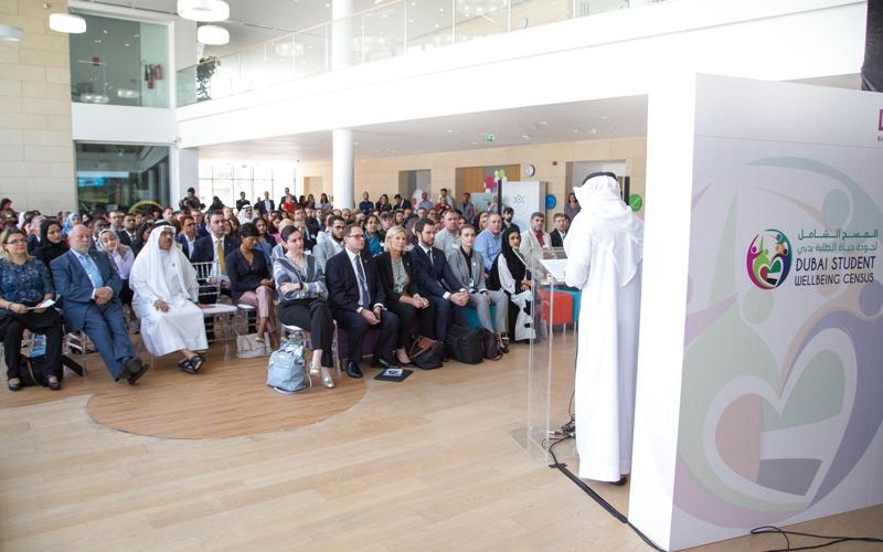 الصورة: %84 من طلبة مدارس دبي «سعداء»