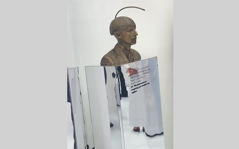 «محمد بن راشد للابتكار الحكومي» استعرض 7 ابتكارات في جناح «ابتكارات الحكومات الخلّاقة». من المصدر