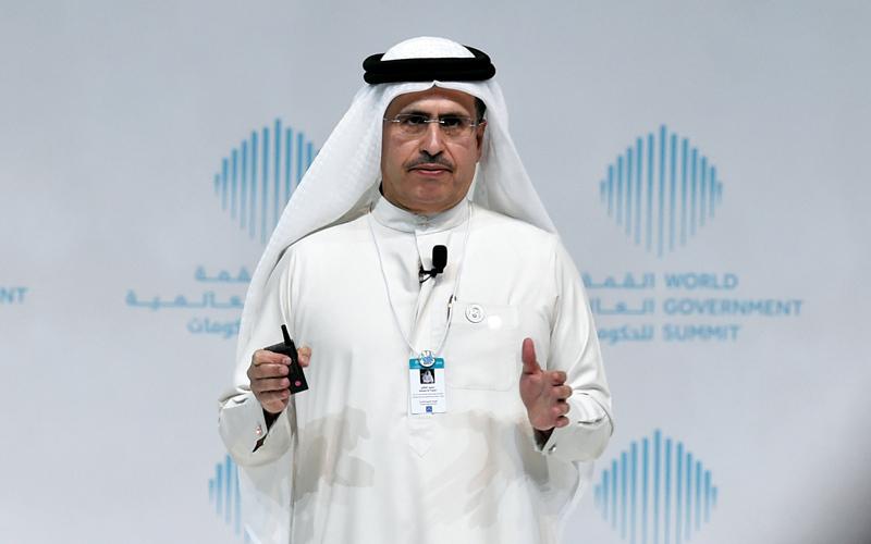 سعيد محمد الطاير: «لدينا مركز تفاعلي للابتكار، ومركز للبحوث والتطوير، ومركز لاختبارات الطاقة الشمسية مجهز بأحدث تقنيات الطاقة المتجددة والنظيفة».