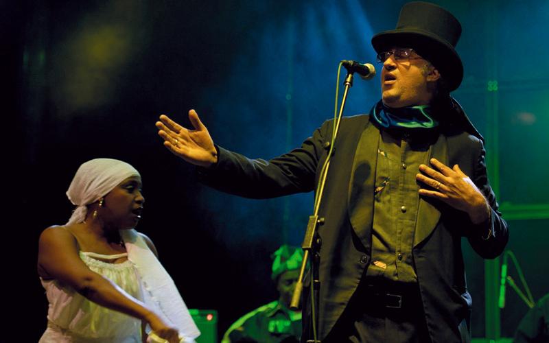 فرقة «رام» من هاييتي ستشارك في اليوم الثاني للمهرجان. من المصدر