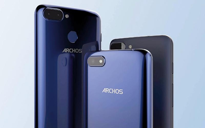 الصورة: «أركوس» الفرنسية تطلق 3 هواتف ذكية جديدة من الفئة «كور إس»