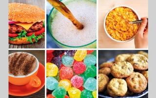 الصورة: المنتجات المصنعة تشكل نصف المواد الغذائية في بريطانيا