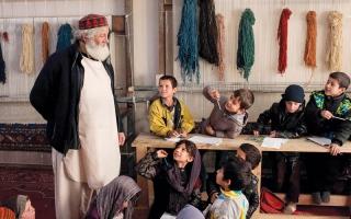 الصورة: أطفال الشوارع في كابول يحصلون على فرصة استرداد طفولتهم