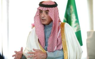 الصورة: الجبير: قطر توفر ملاذاً للإرهابيين.. وإيران تتدخل في دول المنطقة