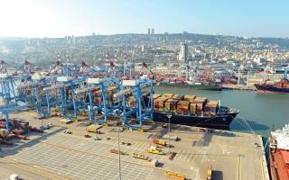 الصورة: تحالف قطر وتركيا يمنح «قبلة الحياة» لميناء إسرائيلي