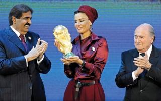 الصورة: الولايات المتحدة أو إنجلترا بديلاً لقطر لتنظيم كأس العالم