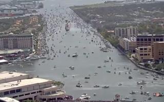 الصورة: فيديو (Time Lapse) احتفالاً بمهرجان القرصان الأسباني الأسطوري غاسبار
