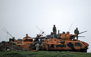 الصورة: تركيا ترسل قوات خاصة استعداداً لـ «معركة جديدة» في عفرين