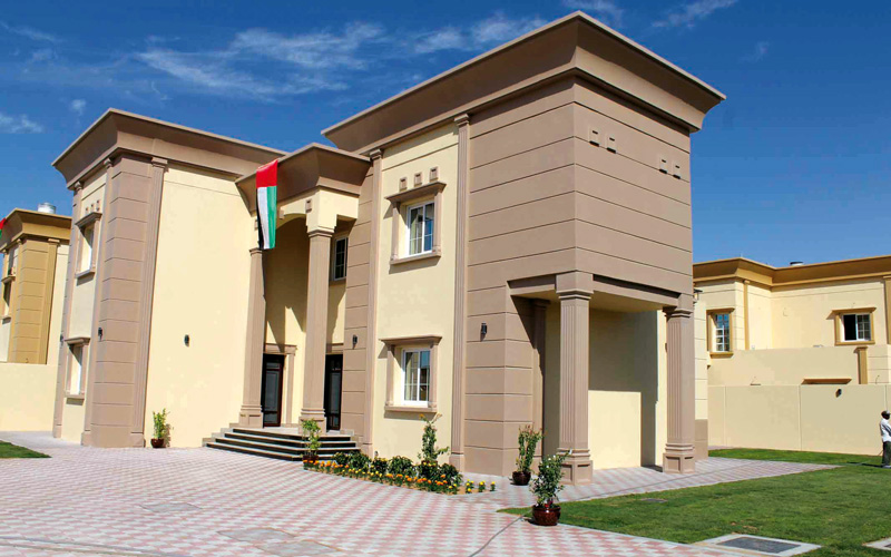 زايد للإسكان يبني مساكن المواطنين على أراضيهم الخاصة محليات