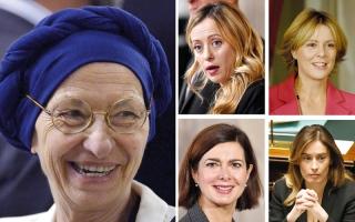 الصورة: 5 نساء يخضن معركة الانتخابات الإيطالية وصولاً إلى رئاسة الوزراء