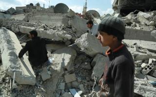 الصورة: الهدنة الروسية تنهي يومها الثالث في الغوطة الشرقية من دون إجلاء مدنيين