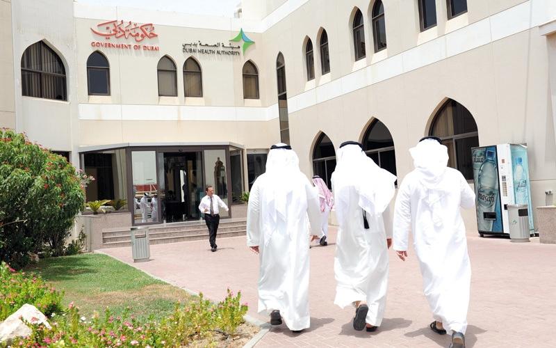 الصورة: «صحة دبي» تستقبل مليوني مراجع العام الماضي