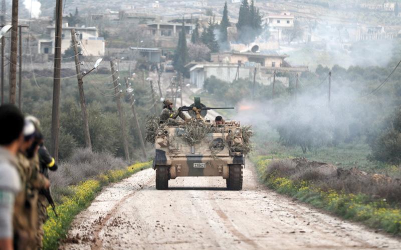 36 قتيلاً من القوات الموالـــــية لدمشق بغارات تركية على عفــــرين
