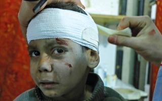 الصورة: أصوات من تحت الركام تنتظر الموت في الغوطة الشرقية