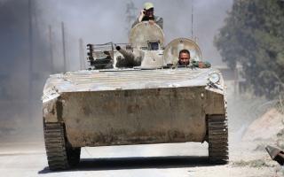 الصورة: النظــام يشطــر الغوطـة الشرقيـــــة.. والأمم المتحدة تندّد بـ «مرحلـة رعب» جديدة