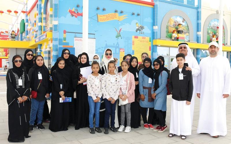 الصورة: «الإمارات للثلاسيميا» تُسعد أطفالاً مرضى برحلة إلى «دبي باركس»