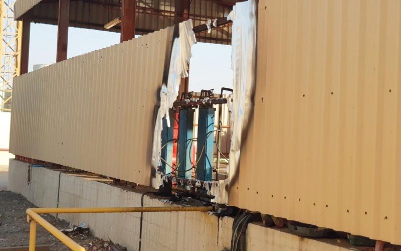 الصورة: إصابة 5 أشخاص إثر انفجار أسطوانة غاز في عجمان