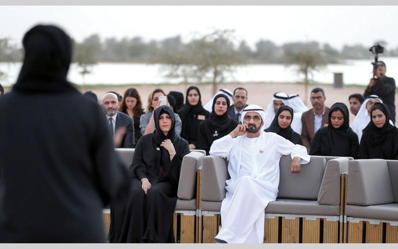 محمد بن راشد: العالم يتغيّر بسرعة كبيرة وعلينا مواكبته بأفكـار مبدعـة ومفاهيــم جـديدة