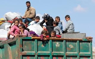الصورة: الجيش التركي يطوّق مدينة  عفرين وعشرات القرى غربها
