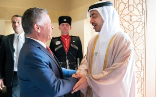 الصورة: الإمارات والأردن تؤكدان أن لا حلّ عسكرياً للأزمة السورية