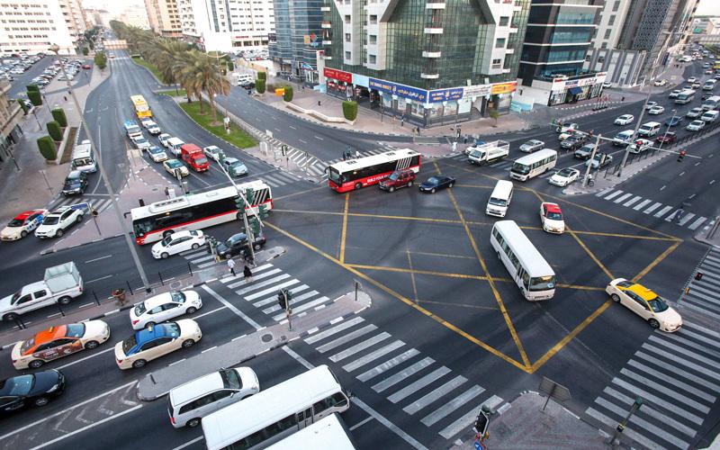 تدريب سائقي الحافلات العامة على توقع أخطاء مستخدمي الطريق. تصوير: أشوك فيرما