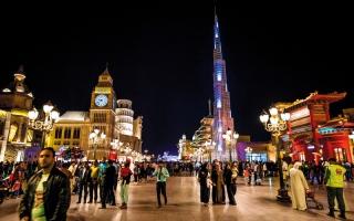 الصورة: الإماراتيون ضمن أسعد 11 شعباً في العالم