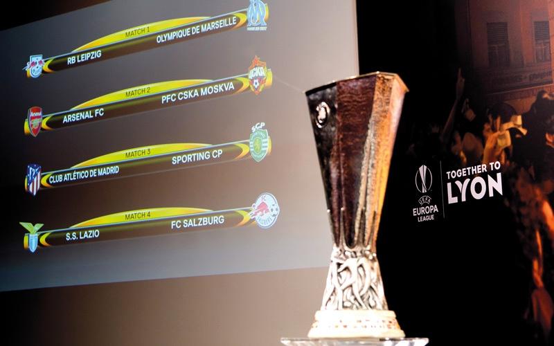 الصورة: أرسنال وأتلتيكو يتجنبان بعضهما في الدوري الأوروبي