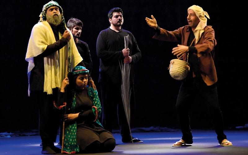 الصورة: «حرب النعل».. فانتازيا المخرج وكوميديا النص تدهش الجمهور