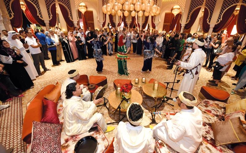 الصورة: «المغرب في أبوظبي».. 13 ألف زائر في 10 أيام