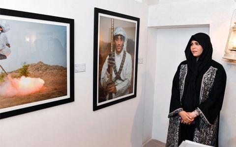 الصورة: لطيفة بنت محمد: «معرض سكة» منصّة فريدة للمواهب الواعدة
