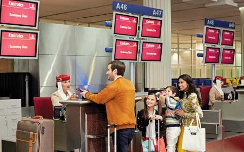 الصورة: «طيران الإمارات»: أعداد قياسية من المسافرين خلال عطلة الربيع
