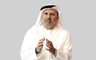 الصورة: قرقاش: قطر موّلت «حزب الله» و«الحشد» و«النصرة» بمليار دولار