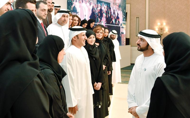 الصورة: حمدان بن محمد: رفاه الفرد والمجتمع.. جوهر العمل الحكومي في دبي