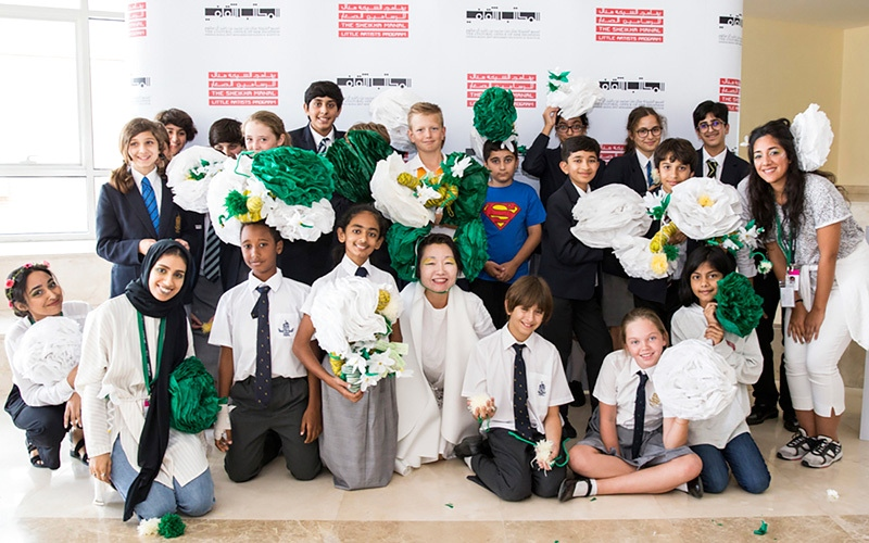 الصورة: منال بنت محمد تطلق مبادرة «الفنانون في المدارس»