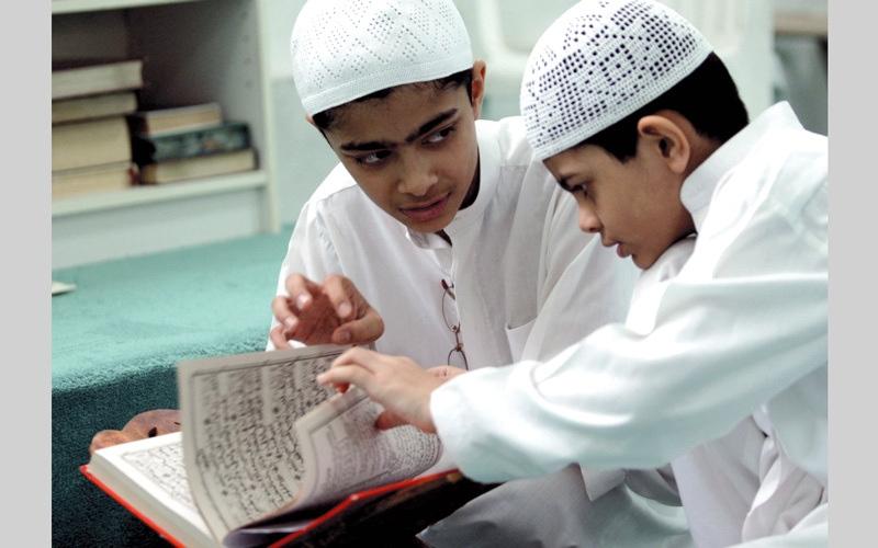 الصورة: رئيس الدولة يصدر قانوني «ربط ميزانية الاتحاد» و«مراكز تحفيظ القرآن»