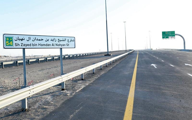 الصورة: «طرق دبي» تفتتح امتداد شارع الشيخ زايد بن حمدان غداً