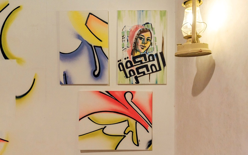 الصورة: معرض «سكة».. 20 فناناً سعودياً تحت سقف واحد