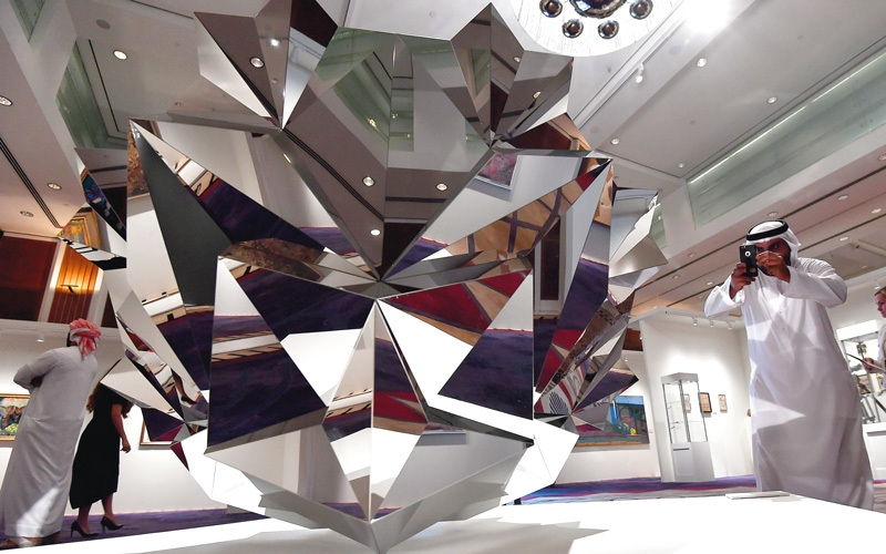 الصورة: تجارب فنية نادرة من الشرق الأوسط في «كريستيز دبي»