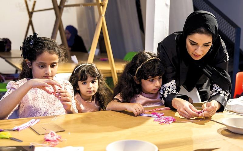 الصورة: الشيخة فاطمة: الأم الإماراتية أهل لتطلعات القيادة وثقتها