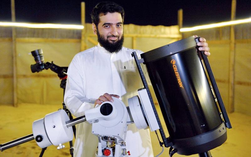الصورة: بطي بوشليبي: أتمنى أن تقودني تجربتي إلى اكتشاف يرفع اسم الإمارات
